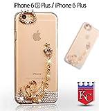 Best Iphone 6 Plus Case Luxuries - Kc Unique 3D Bling Crystal Diamond Love Swan Review