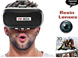 VR BOX 2.0 Virtual Reality Glasses, 2016 Hottest 3D VR Headsets for 4.7~6 Inch Screen Phones iphone 4S, iphone 5s, IPhone 6 / 6 S , Samsung LG Sony HTC, Nexus 6Oneplus Moto etc - Inspired by Google Cardboard.