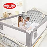 ZEHNHASE Kids Bed Rail, Vertical Lifting Bed Guard Safety Protection Guard,Anti-Fall Bed Guardrail