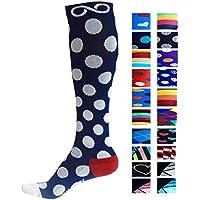 Infinity - Par de calcetines de compresión para hombre y para mujer, la mejor opción