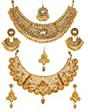 Best Necklace For 2 Prime - YouBella Gold Plated Alloy Necklace Set for Women Review