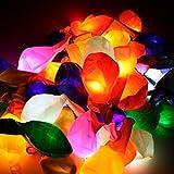 Trendario 15 LED leuchtende Luftballons - Bunt - schöne Ballons mit Licht Party, Geburtstag, Hochzeit, Festival - 4