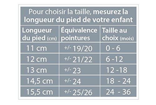 Chaussons Bébé Trianon 18-24 Mois