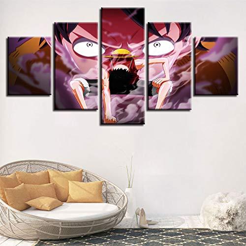 FJLOVE One Piece Decoración De Arte Pared Imprime