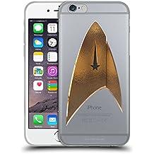 Ufficiale Star Trek Discovery Delta 2 Logo Cover Morbida In Gel Per Apple iPhone 6 / iPhone 6s