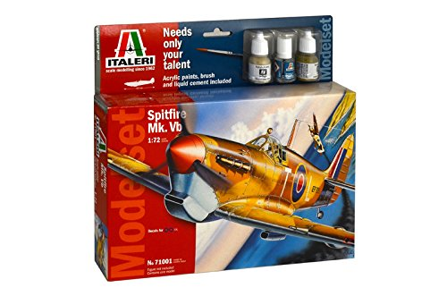 Italeri 71001 - Model Set: Spitfire Mk.Vb Model Kit  Scala 1:72