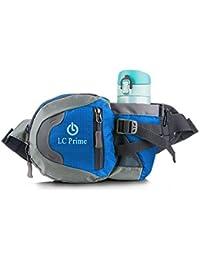 Running Belts Blue: Waist Pack Bum Bag Hip Pack Running Bag Waist Bag Running Belt Sack Water Resistant With Bottle...