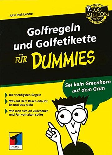 Golfregeln Und Golfetikette Fur Dummies por John Steinbreder
