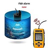 E-kinds Sonar Portatile del sensore del trasduttore dell'ecoscandaglio di Fishfinder Finder 9M dell'ecoscandaglio dell'ecoscandaglio del Pesce Portatile per Pesca