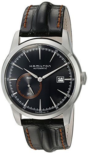 Hamilton Men's H40515731 Timeless Classic Analog Display Swiss Automatic Black Watch