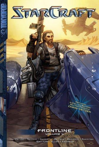 Tokyopop StarCraft: Frontline Volume 4