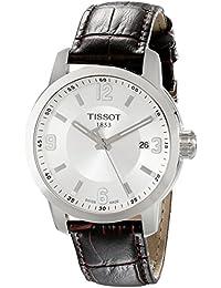 Tissot Herren-Armbanduhr Analog Quarz Leder T055.410.16.037.00