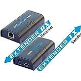 Extensor 100 mts video HDMI por Red Ethernet RJ45 Lenkeng LKV373