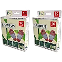 Detox Fusspflaster | Bambus Fußpads | Entgiftung Fuss Pflaster Vitalpflaster (20) preisvergleich bei billige-tabletten.eu
