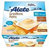 Alete Grießbrei Keks, 6er Pack (6 x 400 g)