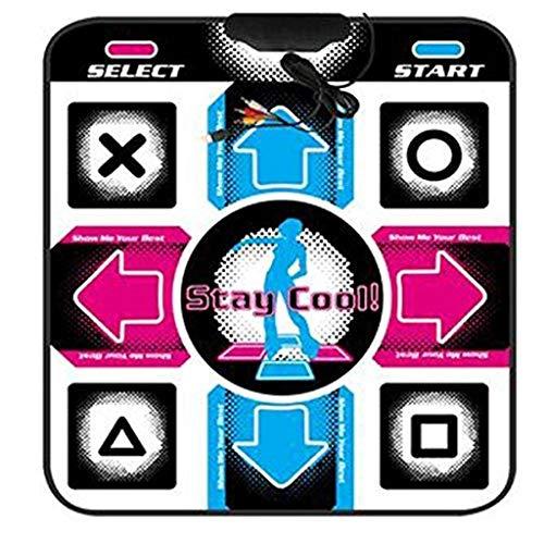 LYDB Rug Tanzteppich Skidproof Dance Mat Decke Computer Tanzmatte Für USB 0,8 cm Dicke Matte 90 cm * 80 cm -