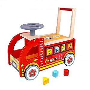 Tooky Toys TY063 - Camión de Madera para Chimenea