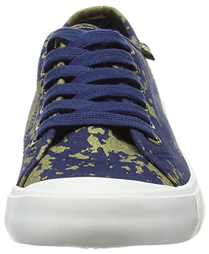 Rocket Dog Damen Jumpin Sneaker Multicolour (Dark Blue/Gold)