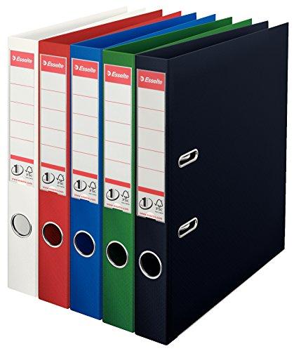 Esselte Power Aktenordner A450mm, verschiedene Farben, 10Stück