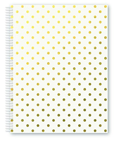 miquelrius-2801-cahier-a4-horizontal-blanc-pois-golden