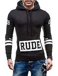 BOLF – Sweat-shirt à capuche - Pull de sport – J.STYLE Y65 - Homme