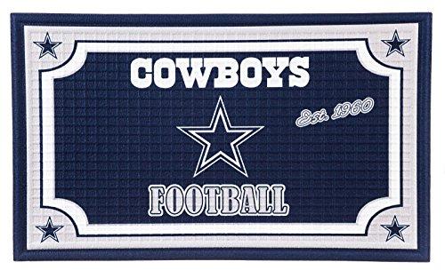1em3808Dallas Cowboys geprägt Fußmatte ()
