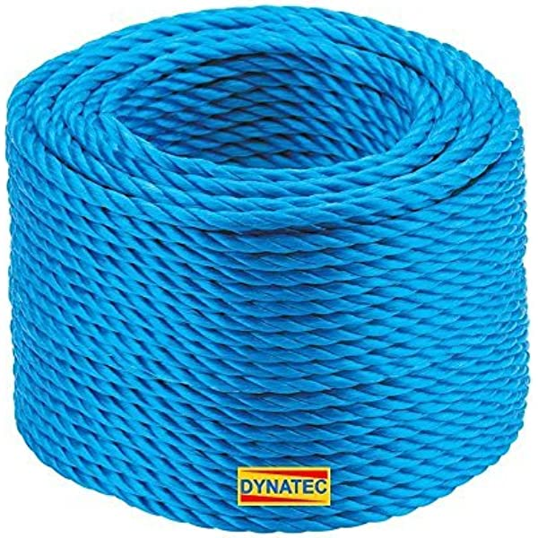 Blue Polypropylene Rope Coils Agriculture 12mm Polyrope Camping, Sailing
