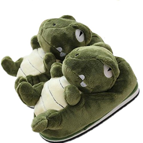 Lovely Animal Elephant Slippers, Winter Warm and Antiskid Cotton Slippers