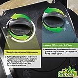 Bio Green Elektrogebläse / Gewächshausheizung mit Digital-Thermostat - 6