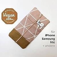 iPhone-Tasche Rosa / Handytasche / Smartphone Case / Vegane Handytasche / Vegane Accessoires /Geschenk zum Muttertag