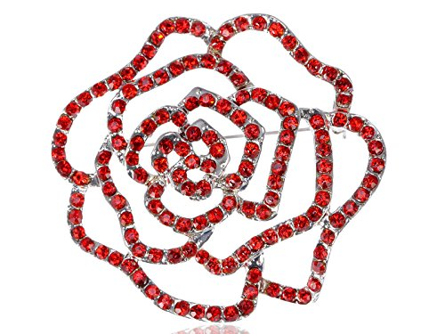alilang-womens-silvery-tone-red-rhinestones-floral-flower-cutout-rose-bud-brooch-pin