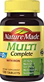 Nature Made, Multi Complete with Iron, 130 Tablets - Best Reviews Guide