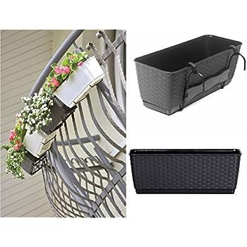 blumenkasten balkonkasten pflanzkasten holz 58cm blumenk bel pflanzk bel garten. Black Bedroom Furniture Sets. Home Design Ideas