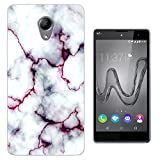 C0803 - Cool Bloggers Favourite White Marble Effect Design