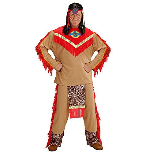 Widmann 37343 Erwachsenenkostüm Indianer, 52 (Apache Indian Kostüme)