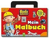 Bob der Baumeister - Mein Malbuch: Mit vielen farbigen Stickern im Werkzeugkoffer-Format