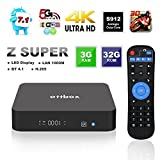 [2017 Top TV Box 3G 32GB] Smart Android Smart Box OTTBOX Z Super Android 7.1 Amlogic S912 Octa Core 3D 4 Karat HD 2,4G / 5G Dual Band Wifi BT4.1 1000 Mt LAN Ethernet
