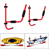 Heavy Duty – pared Kayak, canoa Surf Escalera retención de pared Soporte de pared Rack