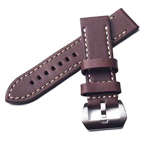watchassassin-cousu-a-la-main-bracelet-en-cuir-sangle-de-montre-de-rechange-avec-boucle-marron-22-mm