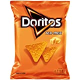 Doritos Tex Mex Producto de Aperitivo de Maíz Frito con Sabor a Queso - 150 g