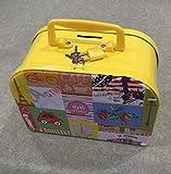 Sun Glower Geld Banken Koffer Sparschwein Roman Zinn Aufbewahrungsbox Geburtstagsgeschenk (gelb)