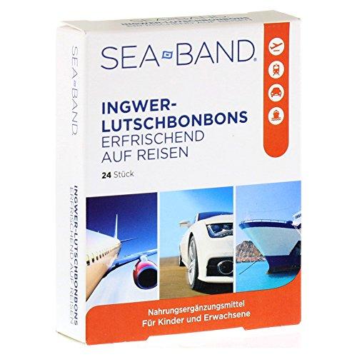 Sea-Band Ingwer Lutschbonbons, 24 St (Ingwer-band)