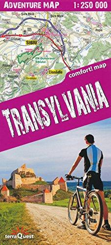 Transylvania 1:250.000 - Carte de trekking en Roumanie
