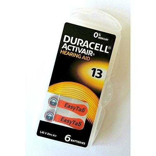Duracell Akustische Batterie n 13 ,6 Stück