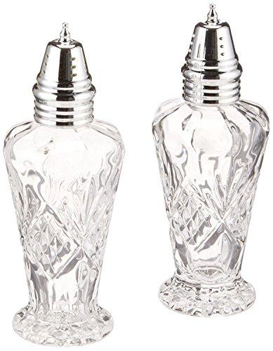Godinger Crystal Dublin Salt and Pepper Set by Godinger Godinger Crystal