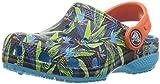 Crocs Unisex-Kinder Clsctropicclgk Clogs, Mehrfarbig (Tropical), 25/26 EU