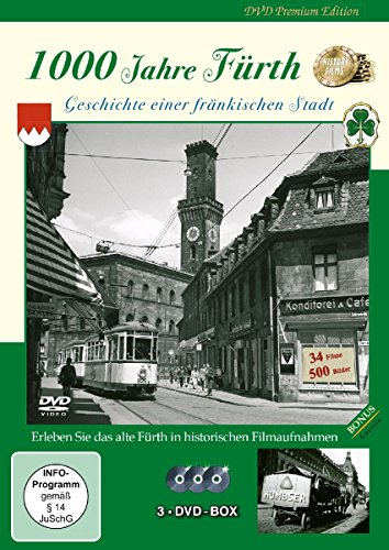 Stadtgeschichte Fürth [ 3 DVD BOX ]