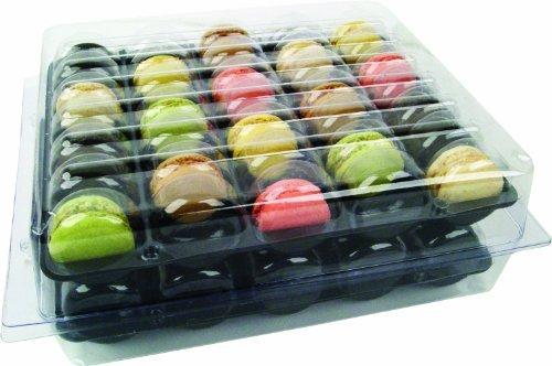 Chrono Box für 70 Macarons Tiefziehschale