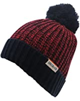 SoulCal Mens Storm Winter Hats Beanie Caps Headwear Bobble Accessories