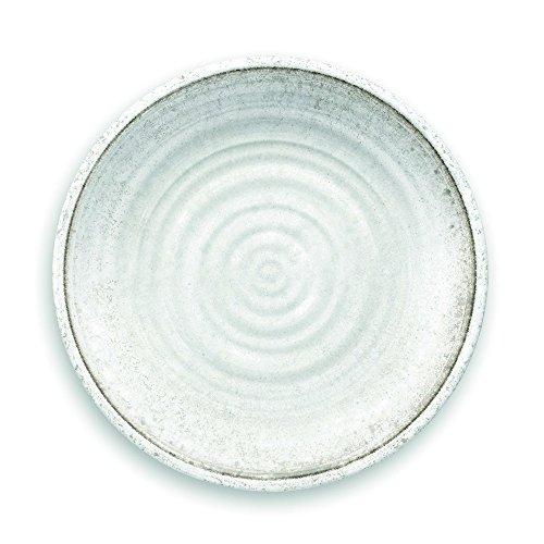 Speiseteller für Genussmenschen - Kunsthandwerk, weiß (Weiße Keramik, Stein)